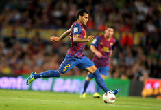 Daniel Alves of FC Barcelona Royalty Free Stock Images
