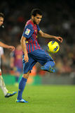 Daniel Alves of FC Barcelona Royalty Free Stock Photo