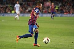 Daniel Alves - FC Barcelona Royalty Free Stock Photos