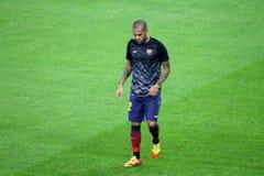 Daniel Alves, Soccer superstar, Fc Barcelona, Brasil Royalty Free Stock Image