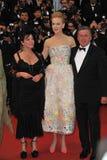 Daniel Auteuil, Nicole Kidman Imágenes de archivo libres de regalías
