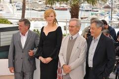 Daniel Auteuil & Nicole Kidman & Steven Spielberg & Ang Lee Stock Photo