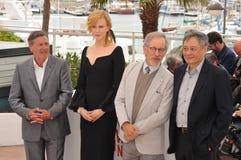 Daniel Auteuil & Nicole Kidman & Steven Spielberg & Ang Lee Stock Image
