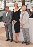 Daniel Auteuil & Nicole Kidman & Steven Spielberg Royalty Free Stock Image