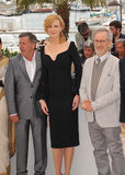 Daniel Auteuil & Nicole Kidman & Steven Spielberg Royalty Free Stock Photography