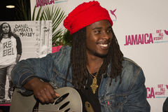 Daniel Bambaata Marley singer is the grandson of Bob Marley and Stock Photos