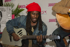 Daniel Bambaata Marley singer is the grandson of Bob Marley and Royalty Free Stock Images