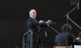 Daniel Barenboim Royalty Free Stock Photo