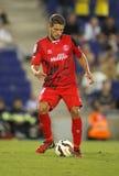 Daniel Carriço van Sevilla FC Stock Afbeeldingen