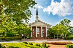 Daniel Chapel bij Furman-Universiteit stock fotografie