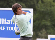 Daniel Coughlan en el golf de abierto París 2009 Imagenes de archivo