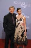 Daniel Craig com amiga Satsuki Mitchell Imagens de Stock