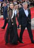 Daniel Craig,Harrison Ford,Olivia Wilde Royalty Free Stock Photography