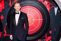 Daniel Craig jako James Bond 007 zdjęcie stock