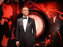 Daniel Craig madam Tussauds fotografering för bildbyråer