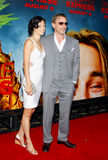 Daniel Craig und Satsuki Mitchell stockfotos