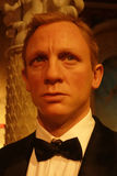 Daniel Craig Wax Figure Royalty Free Stock Images