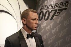 Daniel Craig. Wax figure at Madame Tussauds Wien Austria stock photography