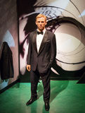 Daniel Craig. Wax statue of Daniel Craig , Hollywood celebrity and actor, image taken at the Madame Tussauds museum at Las Vegas Royalty Free Stock Photography