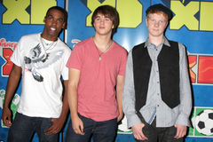 Daniel Curtis Lee,Adam Hicks,Hutch Dano Royalty Free Stock Photo