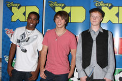 Daniel Curtis Lee,Adam Hicks,Hutch Dano Royalty Free Stock Photos