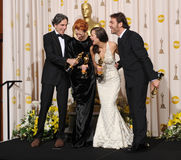 Daniel Day-Lewis, Javier Bardem, Marion Cotillard, Tilda Swinton Stock Photo
