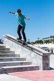 Daniel Ferreira during the DC Skate Challenge Stock Photos