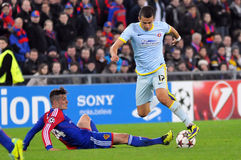 Daniel Georgievski pictured during UEFA Champions League game Stock Images