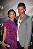 Daniel Gillies,Rachael Leigh Cook Stock Images
