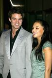 Daniel Gillies,Rachael Leigh Cook Royalty Free Stock Images