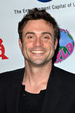 Daniel Goddard, Elizabeth Stanton. LOS ANGELES - DEC 18:  Daniel Goddard arrives at the Elizabeth Stanton's Sweet 16 birthday party at The Globe Theater at Royalty Free Stock Photography