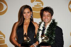 Daniel Ho, Tia Carrere Royalty Free Stock Images