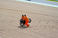 Daniel Kartheininge-Pilot von 125cc im MotoGP Stockfotos