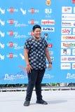 Daniel Lorenzo Alviar Tenorio aL gIFFONI ekranowy festiwal 2016 Zdjęcia Royalty Free