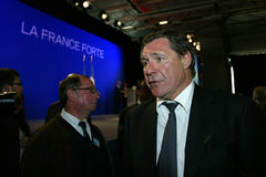 Daniel Mach van de Franse afgevaardigde Stock Foto's