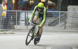 Daniel Martin Team Cannondale - Garmin Royalty Free Stock Images