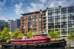 Daniel McAllister tug boat Royalty Free Stock Photos