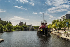 Daniel McAllister tug boat stock photos
