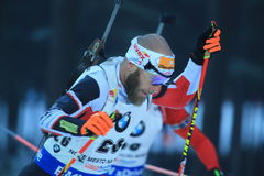 Daniel Mesotitsch - biathlon Stock Foto's
