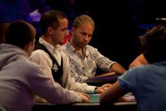 Daniel Negreanu na série de mundo de póquer Fotografia de Stock Royalty Free