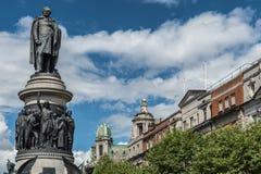 Daniel O ` Connor statua w Dublin, Irlandia Obraz Royalty Free