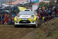 Daniel Oliveira (BRA) in Ford Fiesta  WRC Stock Images