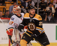 Daniel Paille Boston Bruins #20 Arkivbild