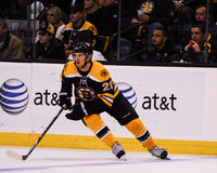 Daniel Paille, Boston Bruins #20. Royalty Free Stock Image