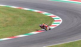 Daniel Pedrosa on Official Honda Repsol MotoGP Royalty Free Stock Photos