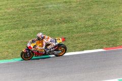Daniel Pedrosa on Official Honda Repsol MotoGP Royalty Free Stock Photography