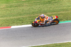 Daniel Pedrosa on Official Honda Repsol MotoGP Stock Photo