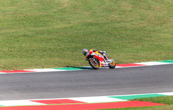 Daniel Pedrosa sur le fonctionnaire Honda Repsol MotoGP Photos stock