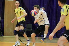 Daniel Pfeffer - Volleyball Stockbild