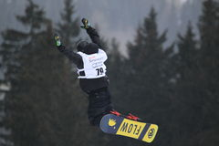 Daniel Porkert - slopestyle Stock Photo